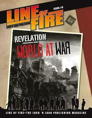"""Lock N Load Line of Fire #8 """"10 New Scenarios, New Maps and Counters"""" Mag NM"""