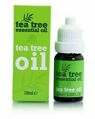 New Tea Tree Essential Oil for Skin Nails Anti-Fungal Pure & Natural 10ml Bottle