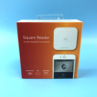 Square Reader Accept Payments Everywhere Contactless Chip A-SKU-0113-04 #OB3848