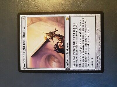 MTG Magic 1x Sword of Light and Shadow Darksteel LP (See Pics/Description)