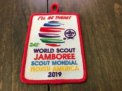 "Boy Scout 2019 24th World Jamboree ""I'll Be There"" Patch"