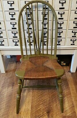 Amazing Antique Rustic Early American Sack Back Windsor Accent Chair Andrewgaddart Wooden Chair Designs For Living Room Andrewgaddartcom