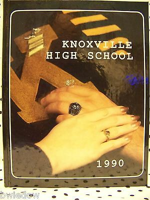 1990 Yearbook New Knoxville Iowa High School Last Chance To Buy People Sports