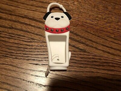 Bath & Body Works Pocketbac Case Cover Hand Sanitizer Black And White Bull Dog