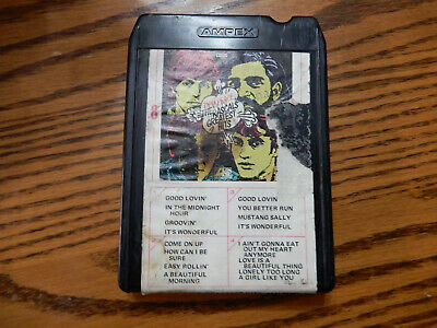 The Rascals Greatest Hits Time Peace  8 Track tape ALM 88190