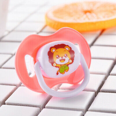 Baby Newborn Infant Silicone Nipple Soother Pacifier Orthodontic Dummy Teether