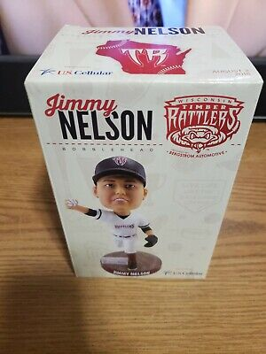 2018 Wisconsin Timber Rattlers Jimmy Nelson Bobblehead!