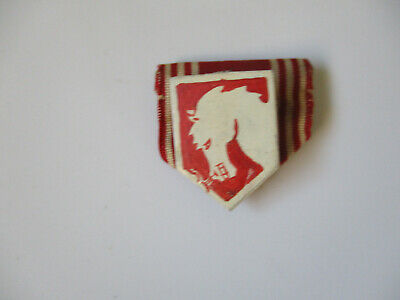 WWII US Army Italian Theater Made EUG Hand Painted DI Engineering Pin