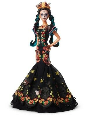 Set of 3! Barbie Dia De Los Muertos Doll PREORDER (Day Of The Dead Doll) 3 Pack