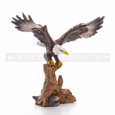 "6.75"" Freedom Bald Eagle on Branch Figurine"
