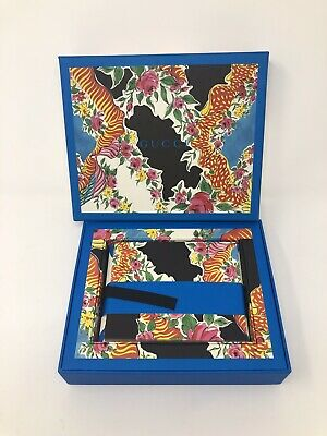Gucci Boxed Stationary Set 20 Cards & Envelopes NEW