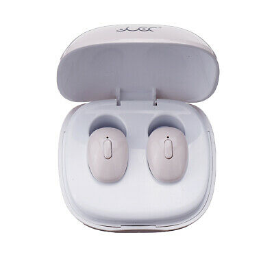 bluetooth 5.0 TWS Mini Headset Wireless Earphone Sport HiFi Stereo Twins W/ Mic