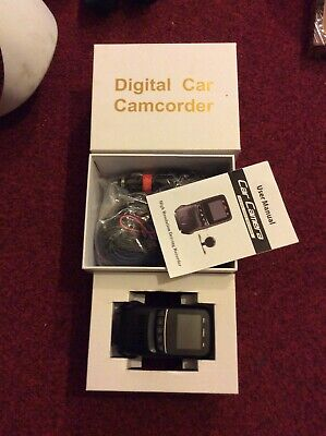 Digital Car Camcorder-High Resolution Driving Recorder-Unused-In Box-Instruction