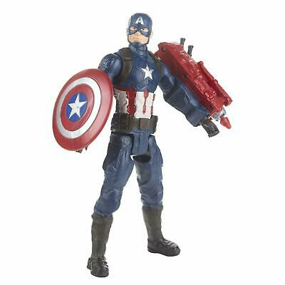 Marvel Avengers Titan Hero Series Captain America Figure 11''