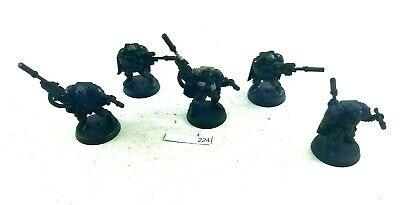 Warhammer 40k Space Marines Scouts Scout Squad w/ Sniper Rifles 224