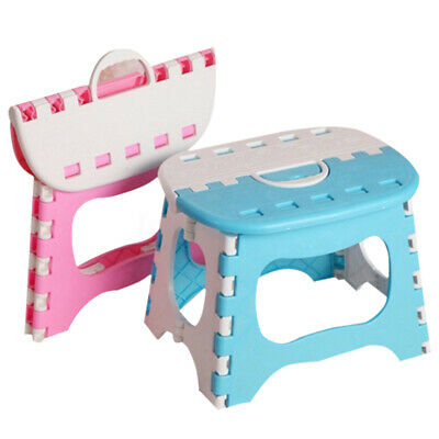 Folding Step Stool for Kids 25*18*20cm Plastic For Outdoor Fishing Portable