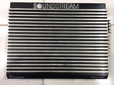 Very RARE Amazing Vintage Picasso Soundstream Amplifier PCX4.360 Will Ship