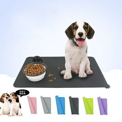 Silicone Feeding Food Mat Dog Cat Drinking Bowl Placemat Tools For Pet Puppy New