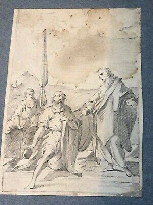 Hand drawn illustration for a book - 18th century