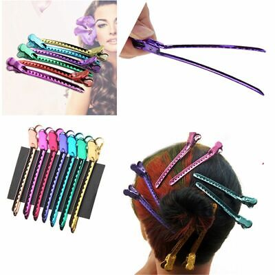 Women Beauty Styling Tools Metal Hairpins Duck Mouth Salon Clamps Hair Clips