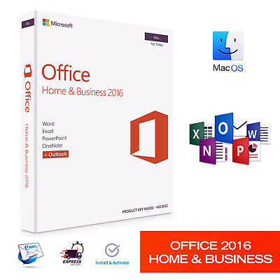 Microsoft Office 2016 Home and Business for MAC Product Key 🔐