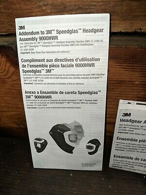 3m Speedglas 9100 with Forced Air Machine, battery and charger