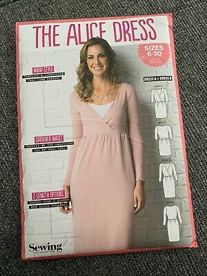 Simply Sewing THE ALICE DRESS, COMPLETE PATTERN.