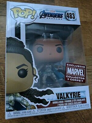 Funko Pop Marvel #483 Avengers Endgame Valkyrie - Collector Corps Exclusive