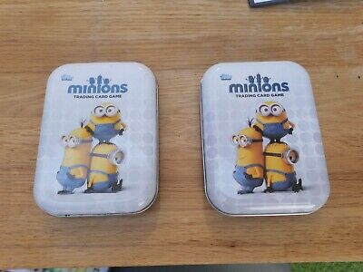 Minions Trading Cards in Tins X 2