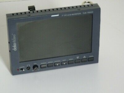 """Datavideo TLM-700HD 7"""" HD/SD TFT LCD Monitor with V lock battery Plate"""