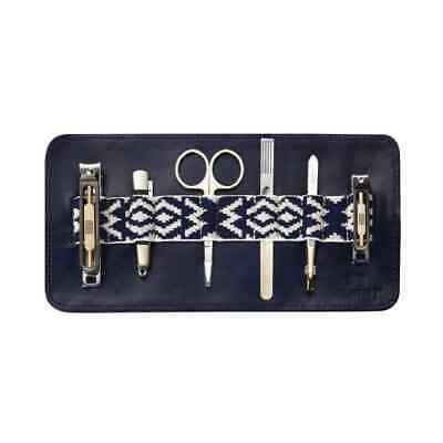 Mantidy Gaucho Grooming Roll Navy Leather