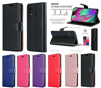 Case For Huawei P20 Pro P30 Lite P Smart 2019 Mate Y6 Leather Flip Card  Cover