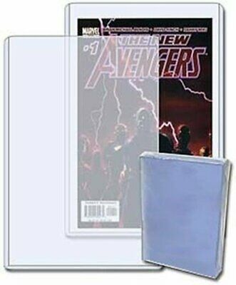 (5) Current Modern Age Size Comic Book Hard Rigid Toploader Storage Holders