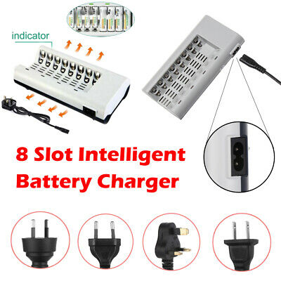 Chargeur de batterie intelligent For AA AAA NI-MH NI-CD Rechargeable Batteries