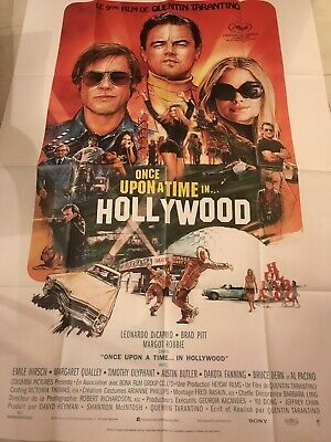 Affiche Pliée 120x160cm ONCE UPON A TIME... IN HOLLYWOOD 2019 Tarantino NEUVE