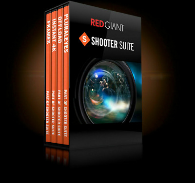 Red Giant Shooter Suite Full Version + Lifetime Serial Keys Instant Delivery
