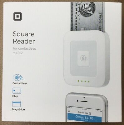 Square Reader Contactless Chip Magstripe Accept Payments Everywhere Free Ship