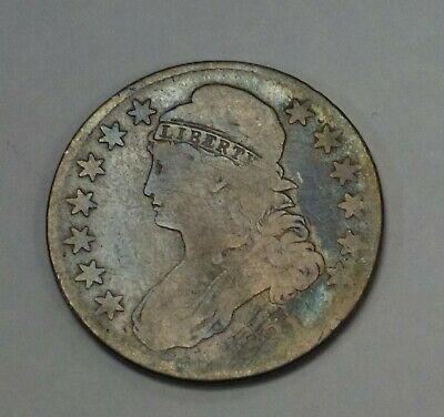1831 CAPPED Bust Half Dollar 50 c. O-114 R-3  Pretty toning