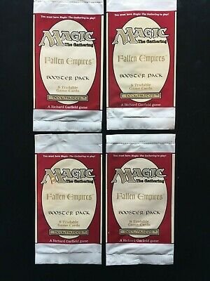 Fallen Empires Booster Wrappers MTG Magic The Gathering (4)