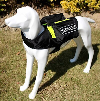 Service Dog Harness Pockets Bags vest Removable Patches for Pit Bull Terrier