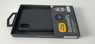 Genuine Otterbox Symmetry Sleek Protection Case Cover iPhone Xs Max - Black
