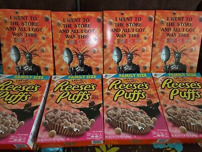 Travis Scott Limited Edition Reese's Puffs Cereal Box-Sealed