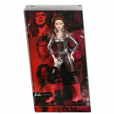 Barbie David Bowie  2019 Ziggy Stardust Limited Edition New  In Hand