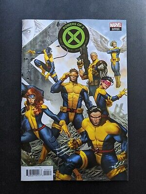 Powers of X #4 Jorge Molina Connecting Variant X-Men 2019 Hickman House 1st NM