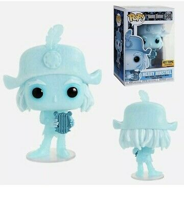 Funko Pop Disney #580 Merry Minstrel  Haunted Mansion Hot Topic IN HAND