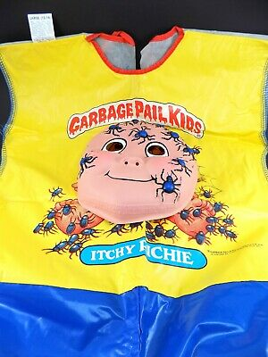 "Rare Vintage 1985 Topps Garbage Pail Kids ""ITCHY RICHIE"" Halloween Costume"