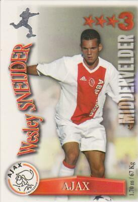 All Stars TCG 2003/2004 Trading Card Wesley Sneijder Ajax Amsterdam ROOKIE *RARE
