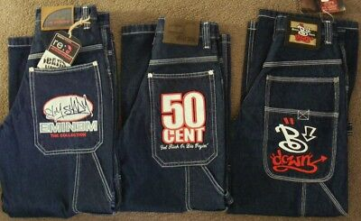 Homies DENIM JEANS  50 CENT + EMINEM + BDOWN  3pc Lot fit 26W ~ Boys sz 7 to 8