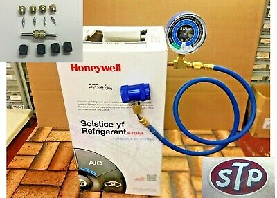 R1234YF Refrigerant Honeywell - Sealed, 10 Lb Solstice, Check & Charge-It Kit U