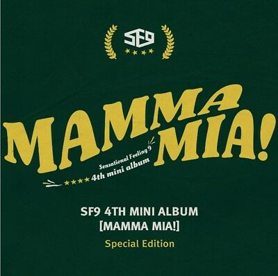 K-POP SF9 4th Mini Album [MAMMA MIA!] Special Edition CD+Booklet+Bookmark+Card